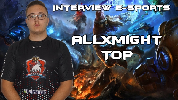 Interview avec ALLxMIGHT
